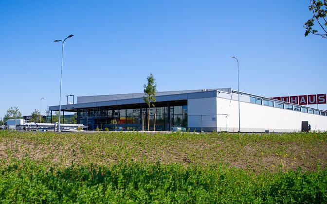 Lidli kaupluse ehitamine Tallinnas.