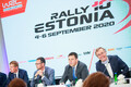 Rally Estonia pressikonverents Stenbocki majas
