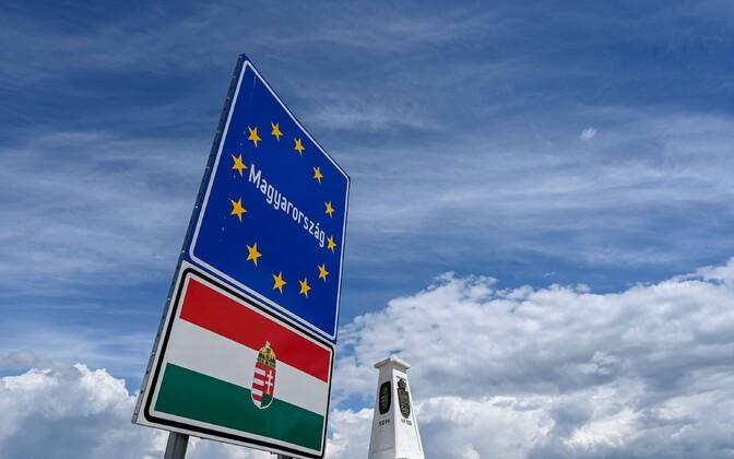 Punkt, kus kohtuvad Ungari, Serbia ja Rumeenia piir.