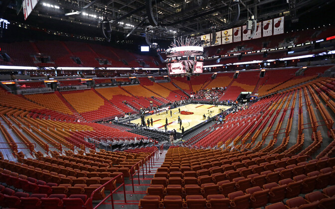 Miami Heati koduareen AmericanAirlines Arena