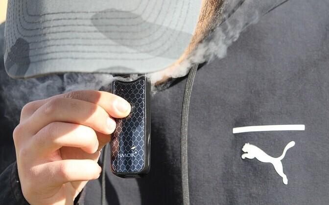 Электронные сигареты в Германии тоже вскоре запретят. Иллюстративная фотография.