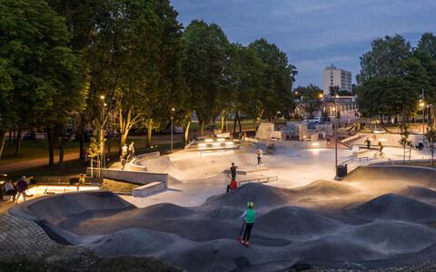 В спортивном парке по адресу Вильде теэ, 69 пройдут различные мероприятия для молодежи.