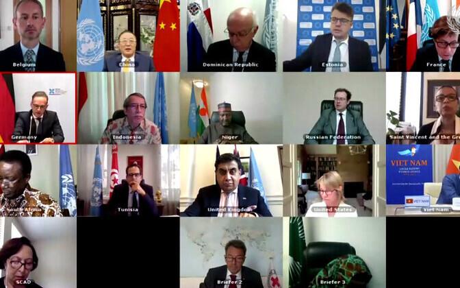 UN Security Council pandemic debate