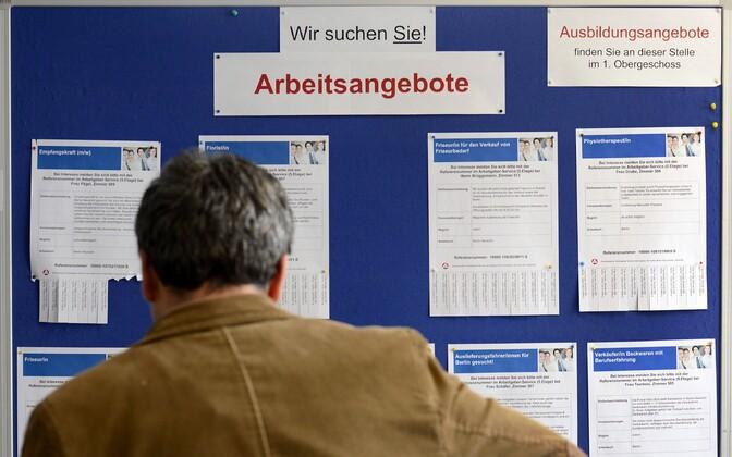 Tööturuamet Saksamaal Berliinis.