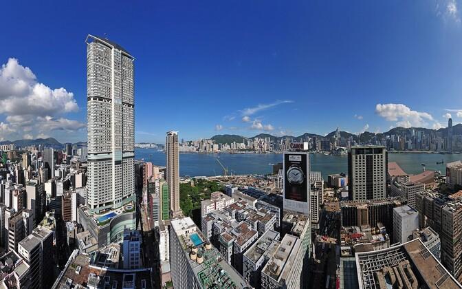 Vaade Hongkongile