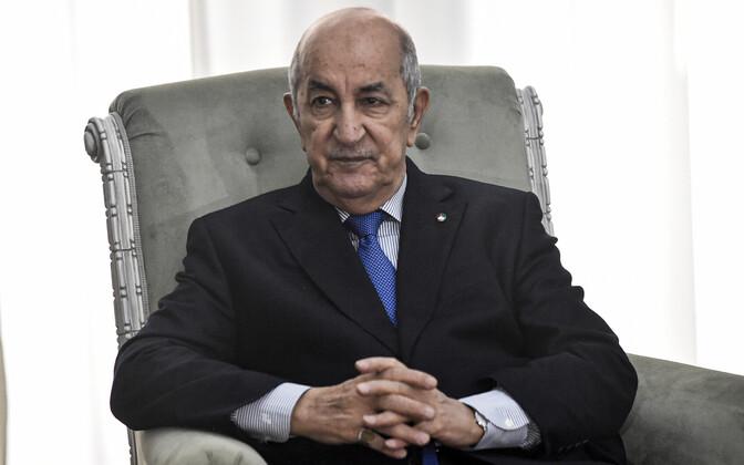 Alžeeria president Abdelmadjid Tebboune.