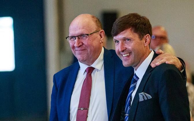 EKRE leadership Mart and Martin Helme.