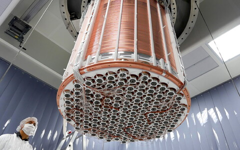 XENON1T detektor.