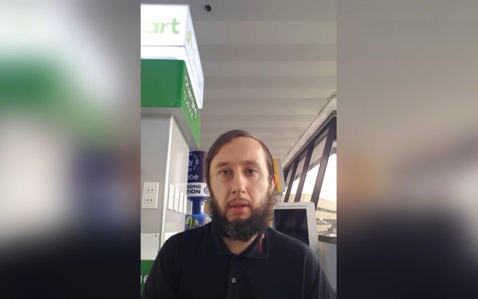 Житель Йыхви Роман Трофимов из-за чрезвычайного положения на Филиппинах на три месяца застрял в аэропорту Манилы.