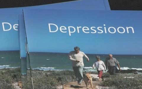 Brošüür depressiooni kohta.