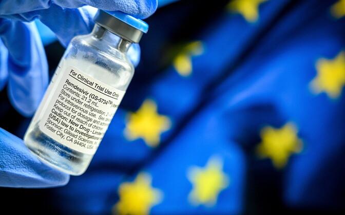 Эстония надеется получить ремдесивир в рамках единого тендера ЕС.