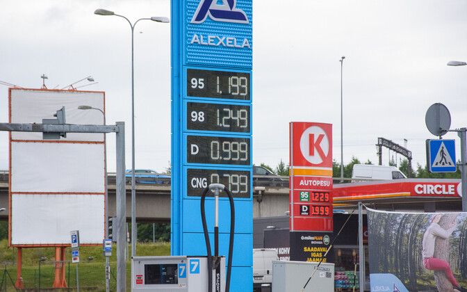 Gas, diesel and LPG prices as of Tuesday.