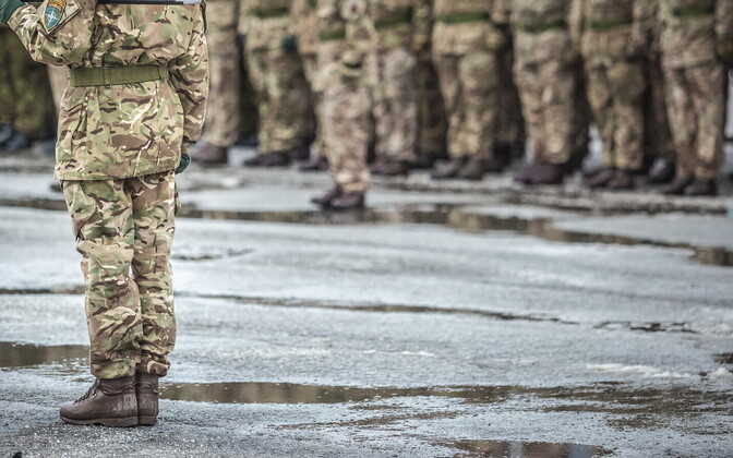 British troops at Tapa Army Base. Photo is illustrative.