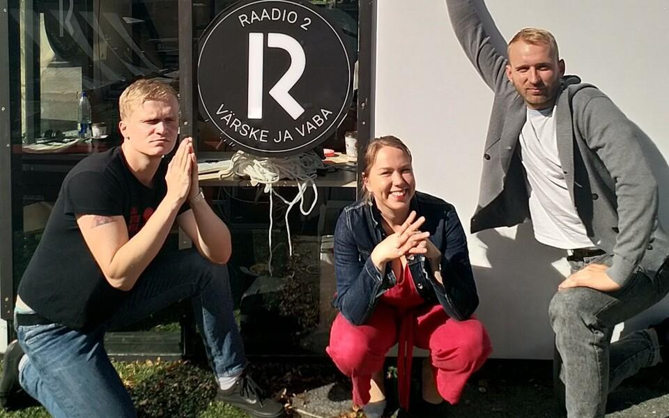 Bert Järvet, Mari Kalkun ja Robin Juhkental