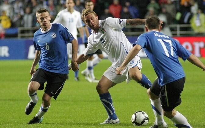 2011 год. Матч Эстония-Италия.