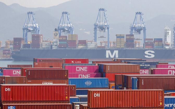 Busani sadam Lõuna-Koreas. OECD andmed näitavad, et hargmaised ettevõtted deklareerivad oma tulud madalama maksumääraga riikides.
