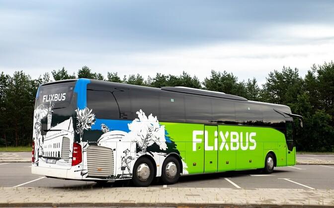 Такие автобусы FlixBus совсем скоро появятся в Эстонии.