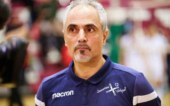 Иоаннис Калмазидис остался работать в Эстонии.
