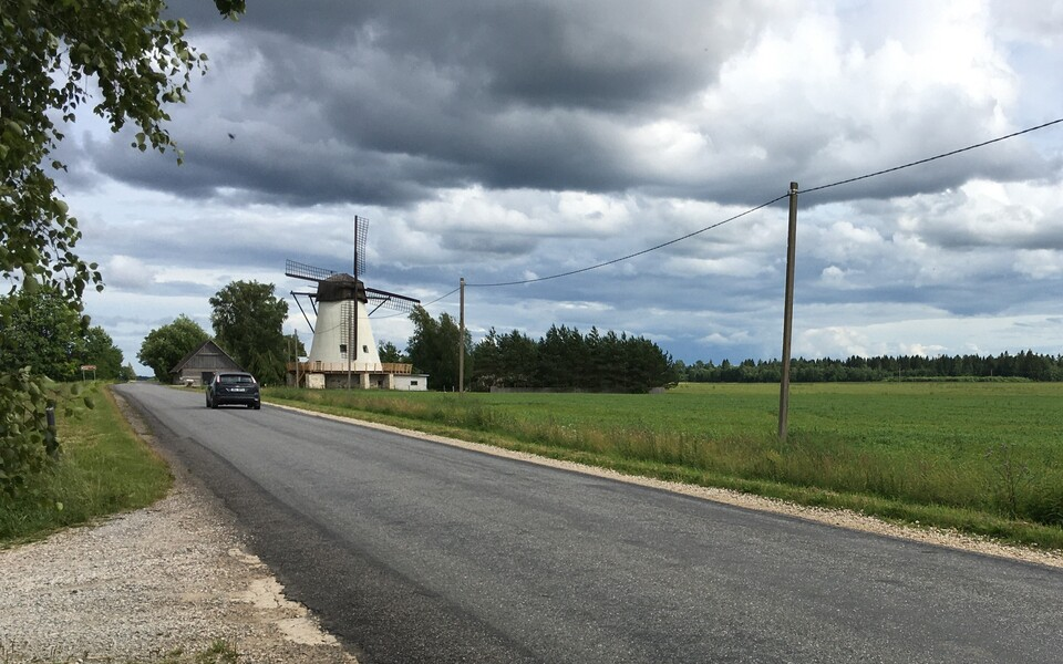 Võivere tuuliku külastuskeskus.
