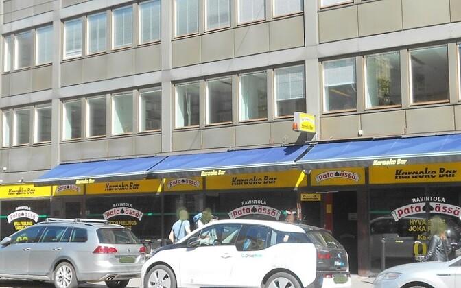 Tulistamine toimus Helsingi kesklinnas asuvas restoranis Pataässä.