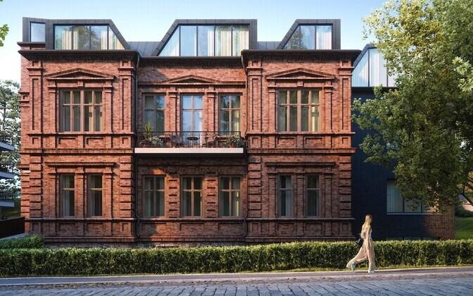 Дом будет называться Vallikraavi Villa.