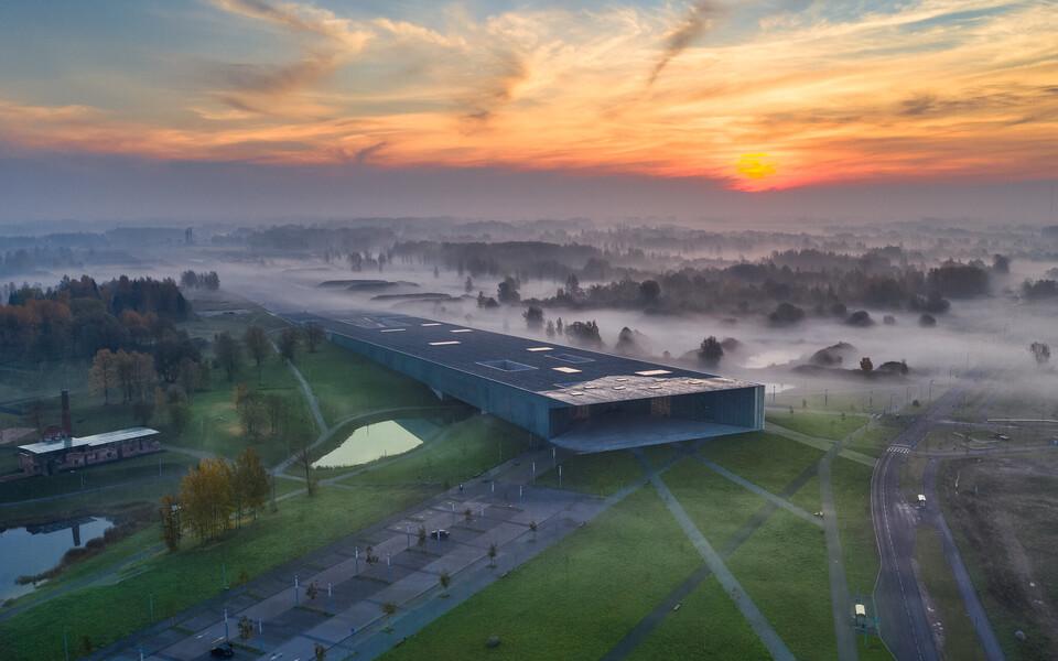 Vaade Eesti Rahva Muuseumile