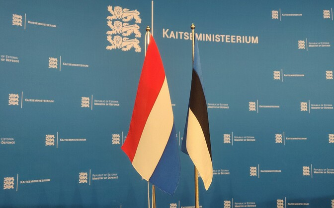 Meeting of Estonian Dutch Defense Ministries