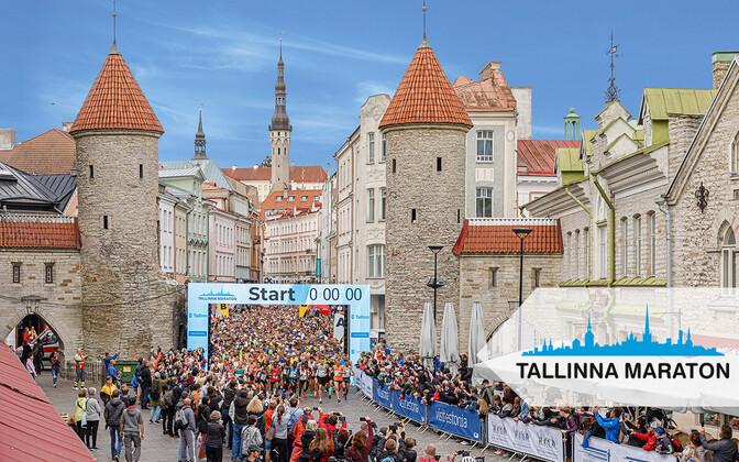 Старт Таллиннского марафона в 2019 году.