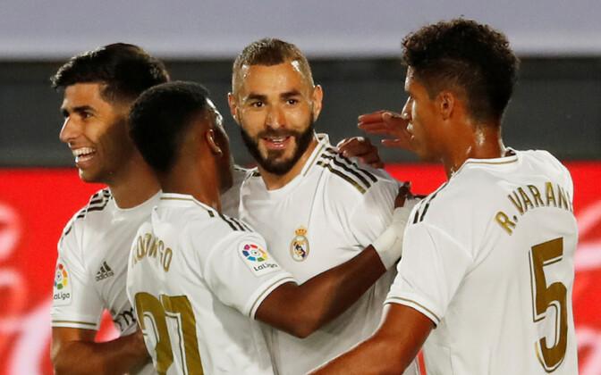 Madridi Reali mängijad