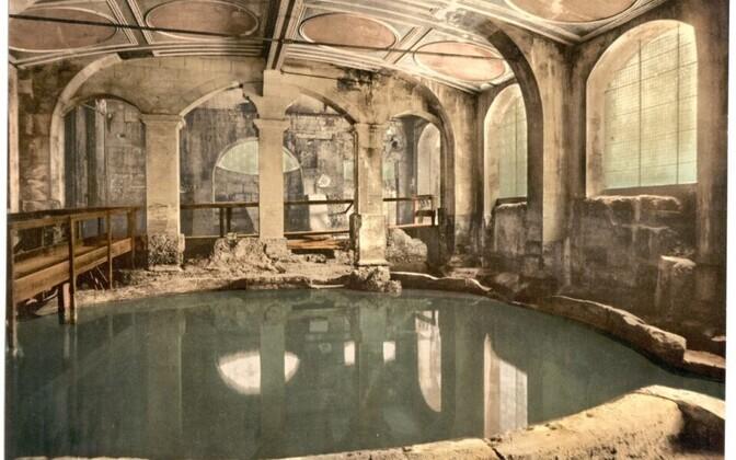 Caldarium ehk kuum vann vanade roomlaste rajatud termis Bathi linnas Inglismaal.
