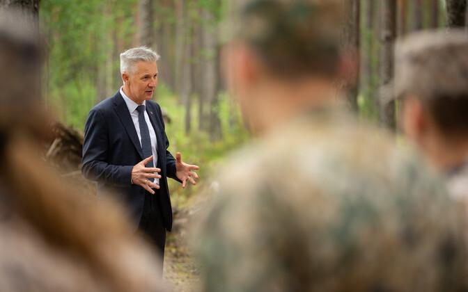 Läti kaitseminister Artis Pabriks