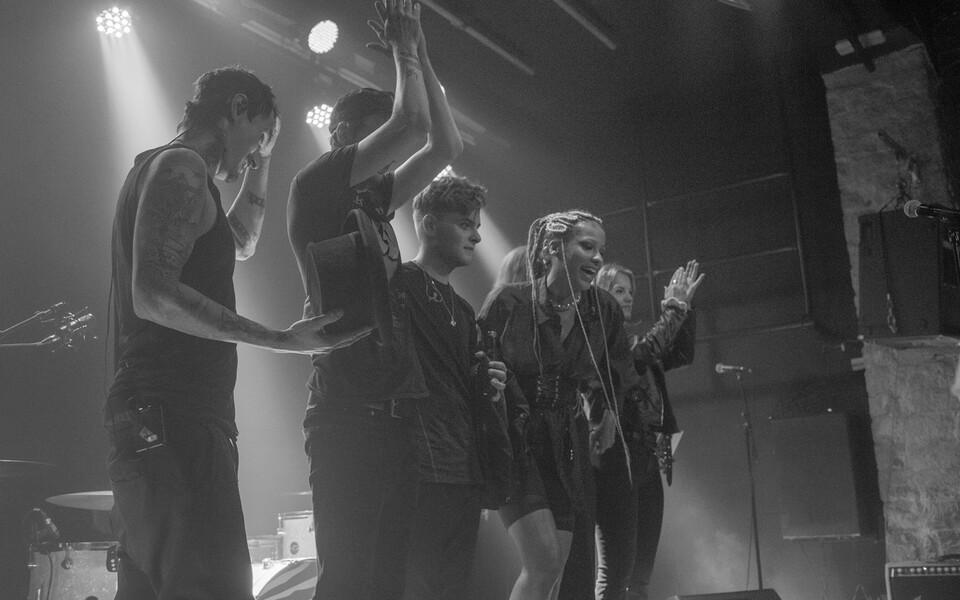 Yasmyn ja Mick Moon esitlesid uusi albumeid.