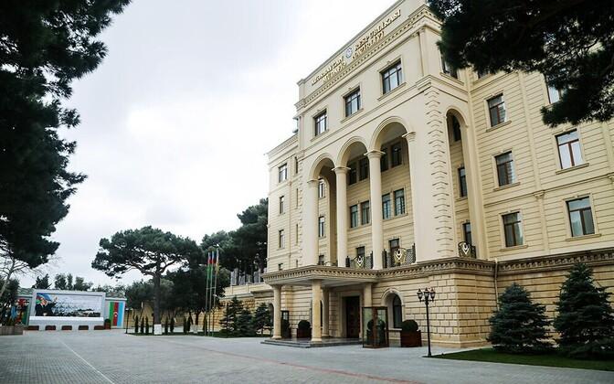 Здание Минобороны Азербайджана.