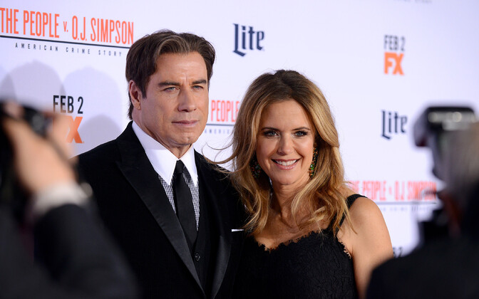 John Travolta ja Kelly Preston