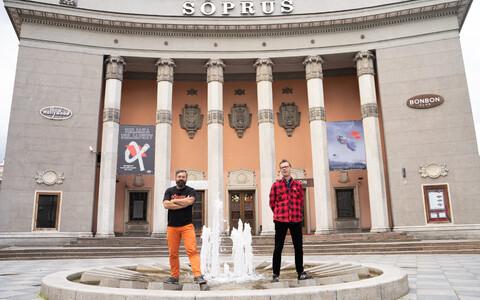 Kino Sõprus omanik Indrek Kasela ja uus tegevjuht Ivar Murd