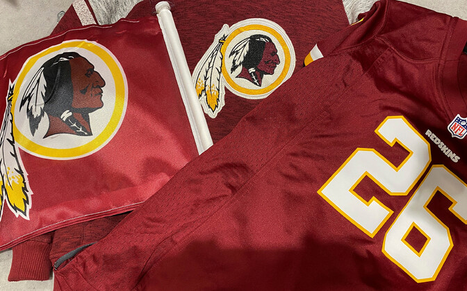 Washington Redskinsi sümboolikaga tooted