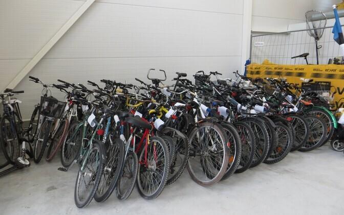 Украденные велосипеды.