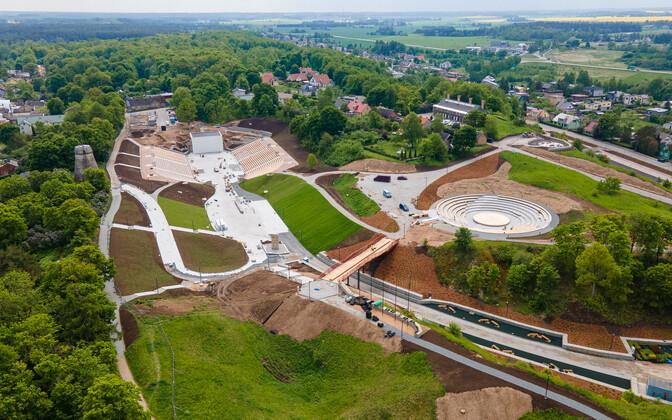 До открытия Центра Валлимяэ осталось две недели.