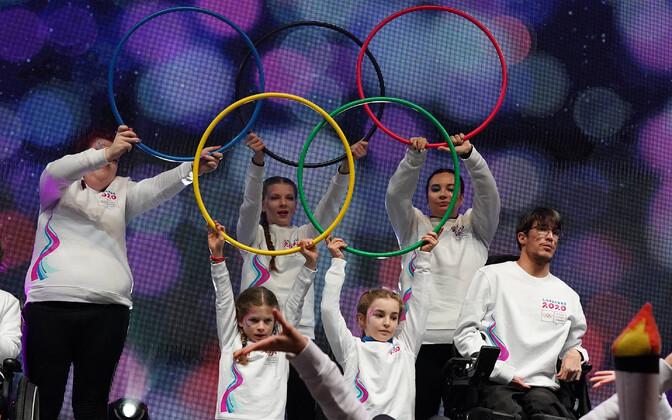 Hetk 2020. aastal Lausanne'is toimunud noorte taliolümpiamänge lõputseremoonialt