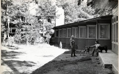 Tartu Õlletehase puhkebaas Võrtsjärve ääres. Arhitekt Raul-Levroit Kivi, 1960–1969.