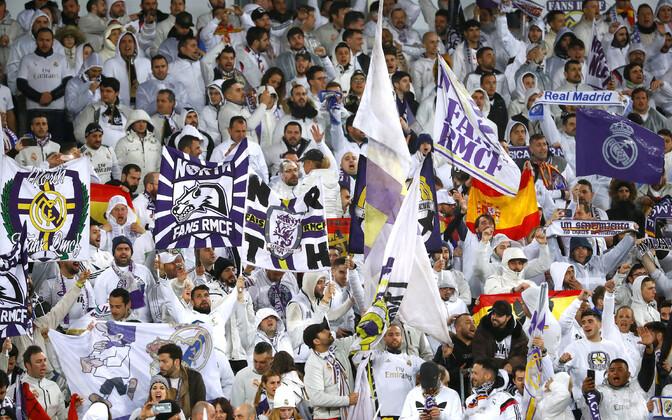 Madridi Reali fännid