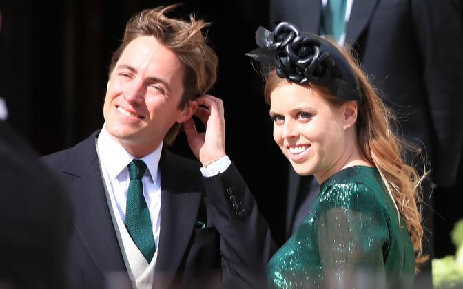 Edoardo Mapelli Mozzi ja printsess Beatrice