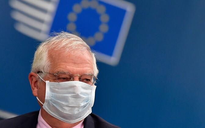Josep Borell Brüsselis tippkohtumisel.