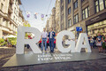 Riga's Terbatas iela, named after Tartu, will be car-free until mid-August