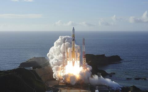 Raketi H-IIA start Tanegashima kosmosejaamast.