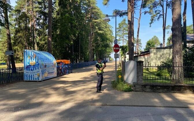На улице Айа в Нарва-Йыэсуу полиция будет чаще замерять скорость движения.