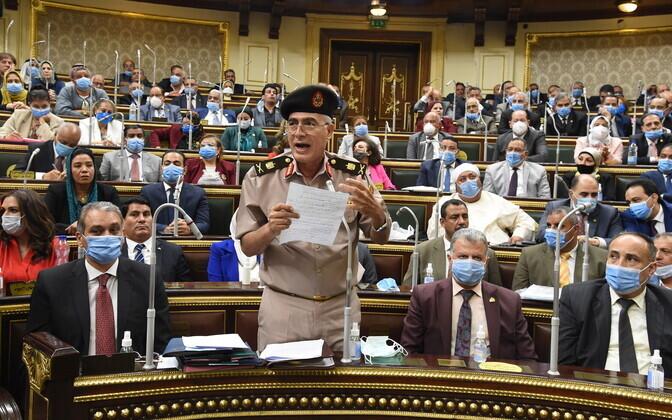 Egiptuse parlament kiitis heaks vägede saatmise Liibüasse.