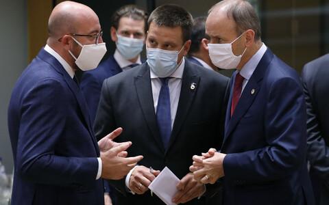 Юри Ратас на саммите ЕС.
