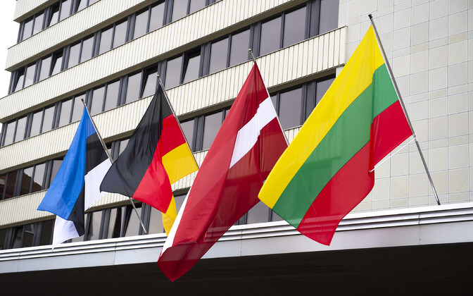 Baltic and Germany foreign ministers meeting in Tallinn.
