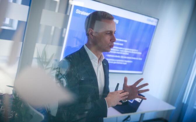 Coop Pank CEO Margus Rink.
